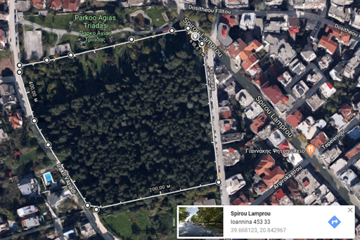 Ioannina New Jewish Cemetery map