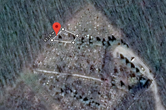 Kalarash Municipal Cemetery (Vatamaneasa) - Jewish Section map