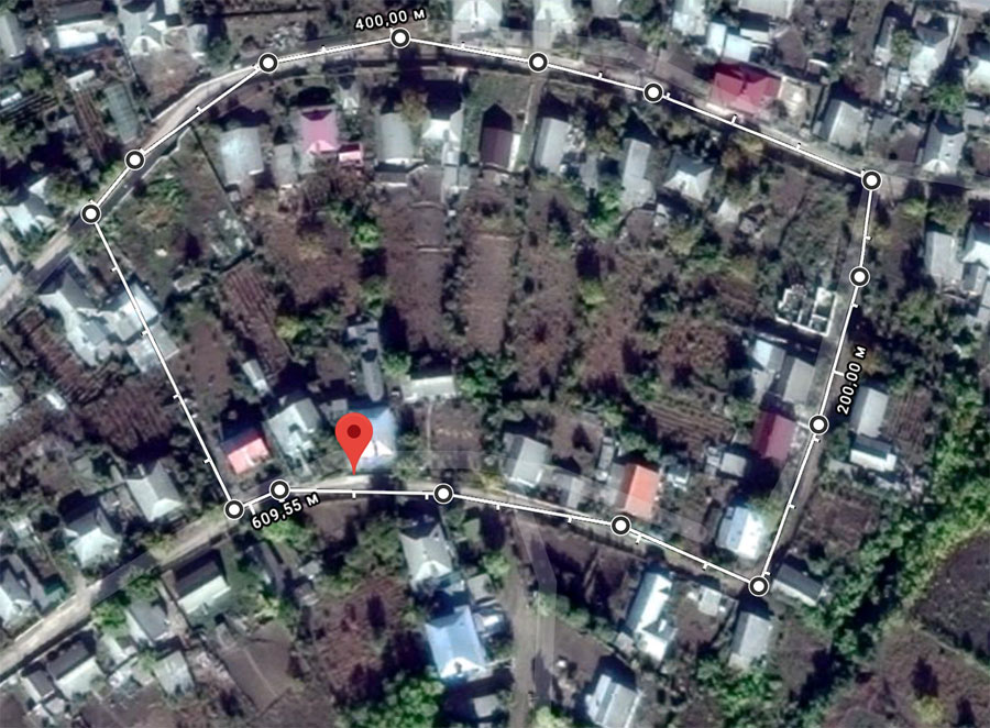 Kausheni New Jewish Cemetery map