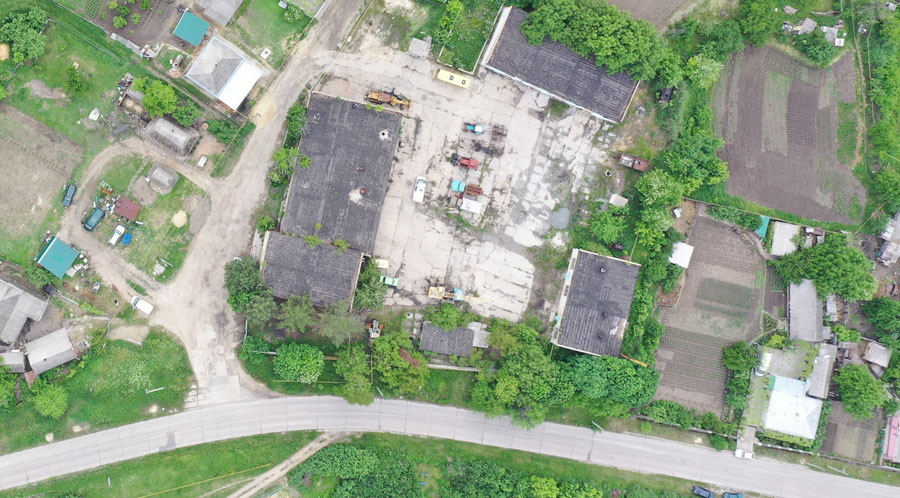 Ananyiv Old Jewish Cemetery drone survey