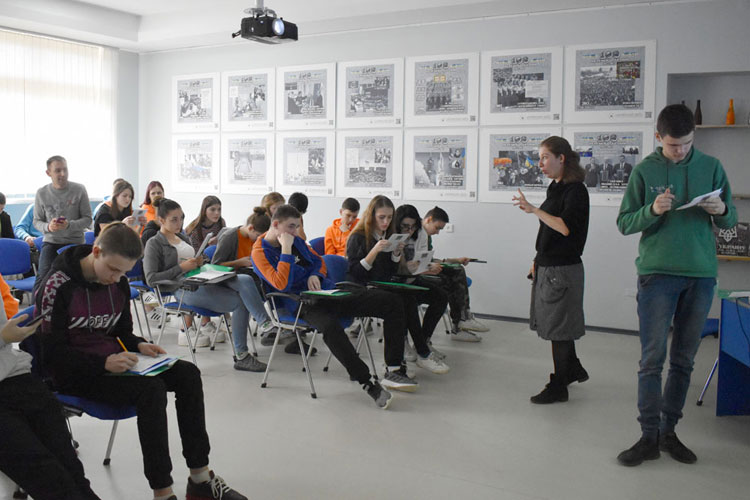 Educational programs conducted for 10th and 11th grade students in Ukraine's Artek camp