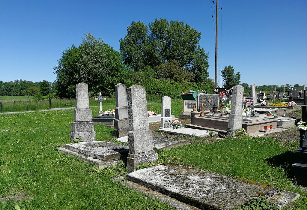 Imbriovec Jewish Section within Municipal Cemetery