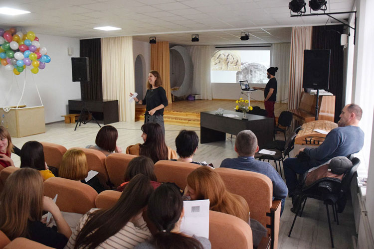 Secondary school educational outreach in Ukraine completed in Vyshnivets